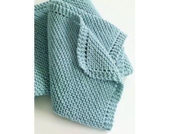 Diagonal Comfort Blanket Pattern (Knit)   Beginner ...
