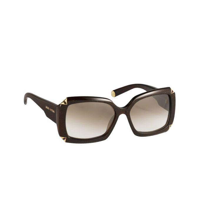 099e7067b3c4 Louis Vuitton Women Sunglasses Hortensia Brown Glitter Z0366W ...