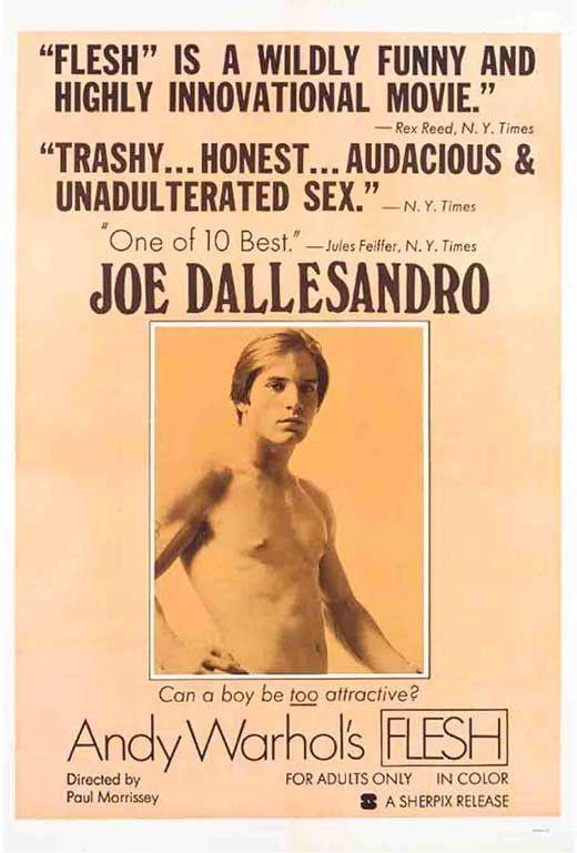 Andy Warhol's Flesh 11x17 Movie Poster (1968) | Joe ...
