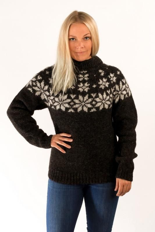 25214e421341 Sweaters For Women. Description  The Fonn unisex pullover is knitted from  Icelandic wool yarn