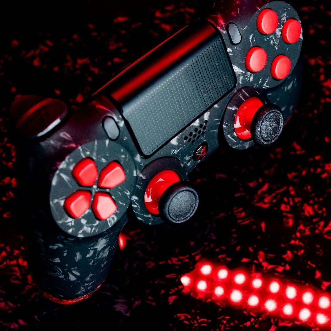 Bereit Für Den Kampf Was Zockt Ihr Heute Kingcontroller Gaming Custom Ps4 Controller Gaming Products Game Console Playstation 4