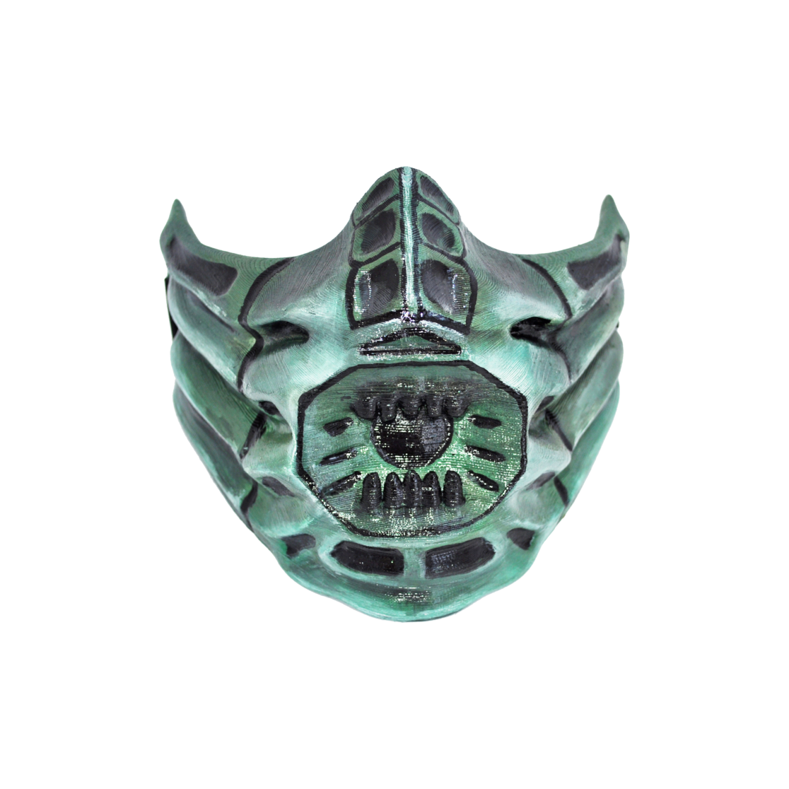 Reptile Mask From Mk Cosplay Or Airsoft Mask Costumes From Destiny Star Wars Overwatch Designedby3d Com Airsoft Mask Mortal Kombat Mask