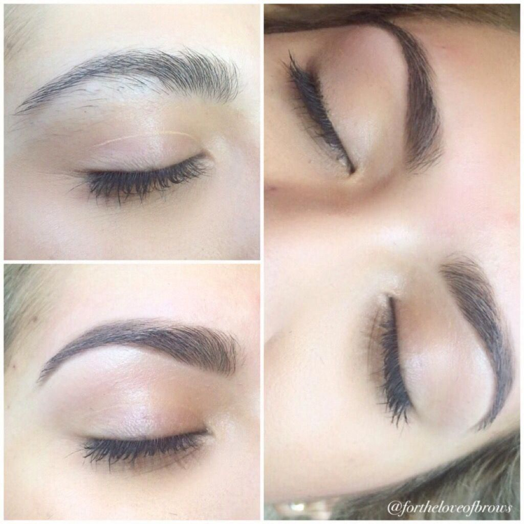Before And After Brows Eyebrow Art By Marisa Rios At Leidan