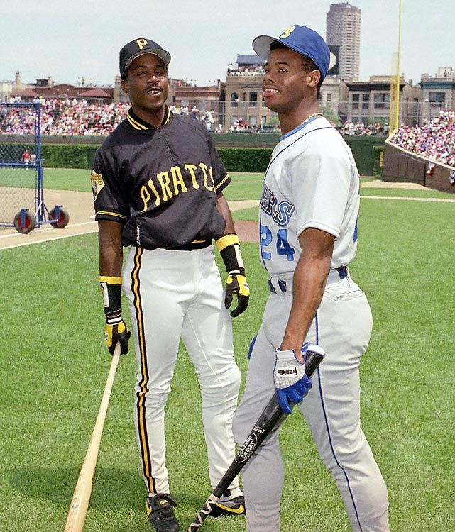 f0985db0ec Barry Bonds and Ken Griffey, Jr | Sports, In the same family ...
