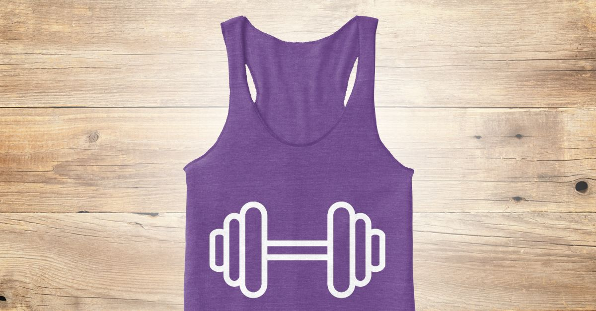 Discover Barbell Women's Tank Top only on Teespring - Free Returns and 100% Guarantee
