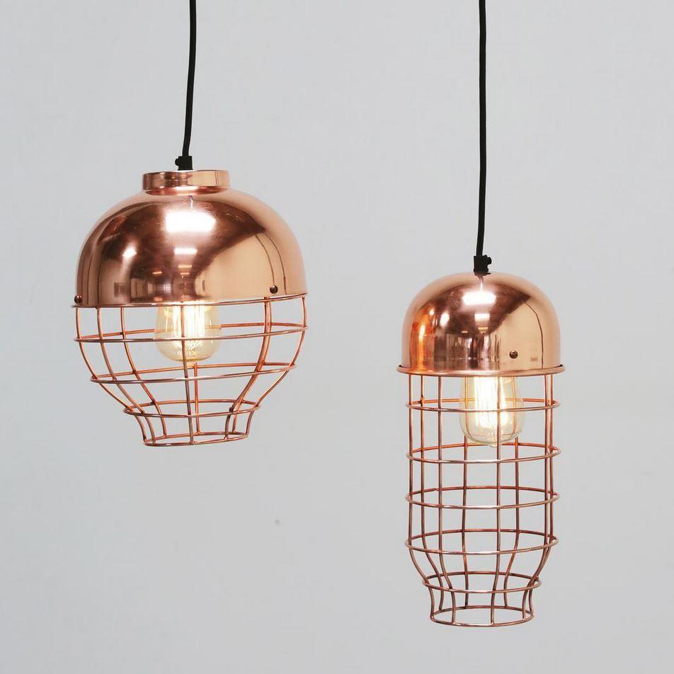 copper // pendants // metal | Lighting trends, Pendant ...
