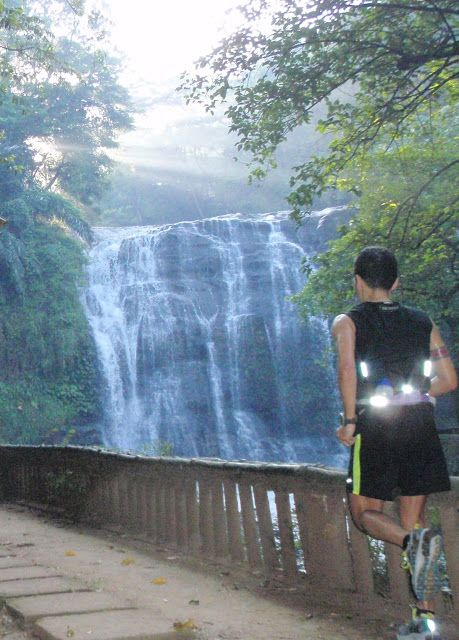 Nice image of Raul Patrick Concepcion on an adventure run in Antipolo in the Philippines.