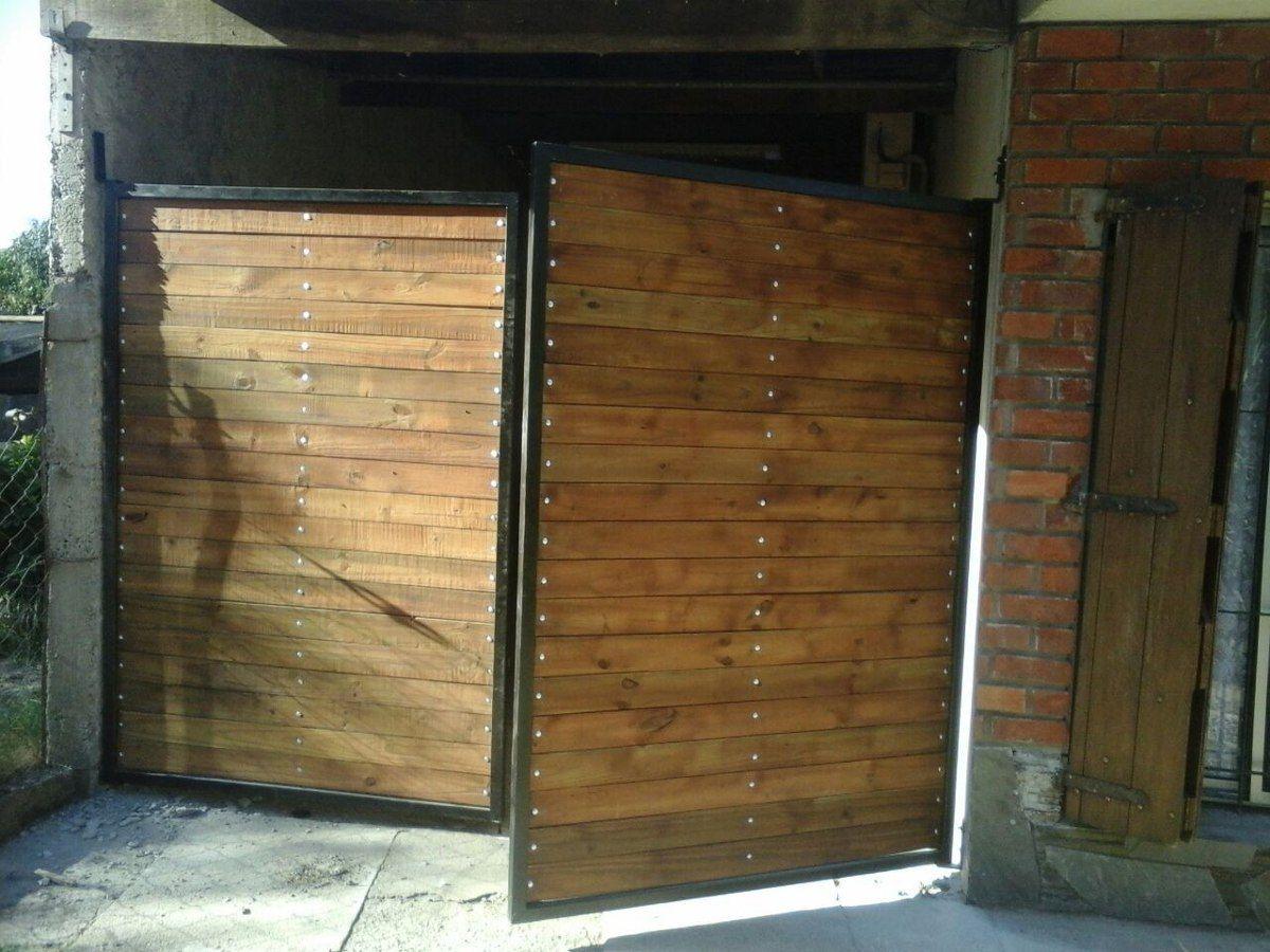 Resultado de imagem para portones de madera portones - Portones para garaje ...