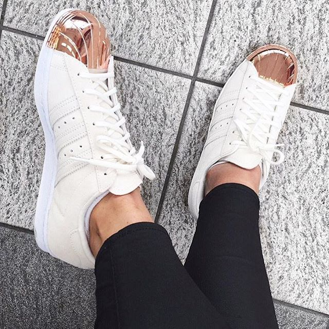 Cheap Adidas Superstar Boost White Black