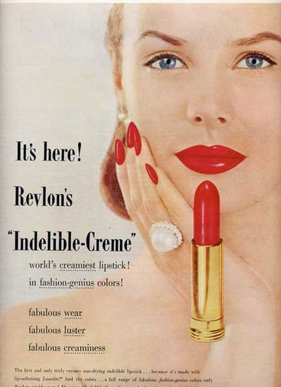 Breweriana, Beer Other Breweriana Publicite 1968 Revlon Cosmétiques Moon Drops Catalogues Will Be Sent Upon Request