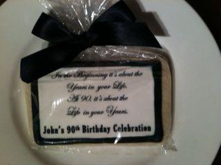 90th Birthday Cookies www.cookiesbysandra.blogspot.com ...