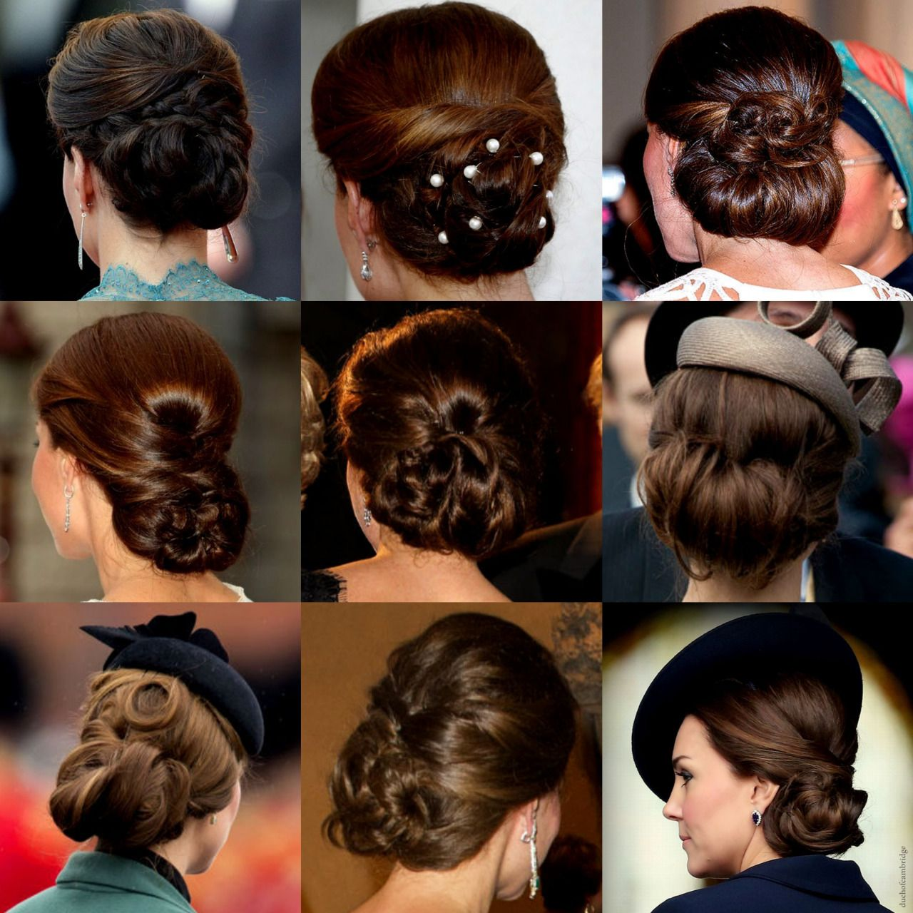 Duchess Of Cambridge Updo Kate Middleton Hair Royal Hairstyles Hair Styles