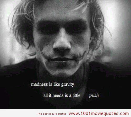Dark Movie Quotes. QuotesGram Joker makeup, Joker heath