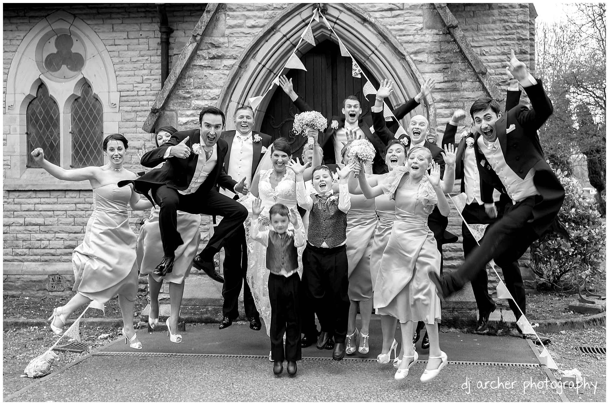 Jumping Wedding Photo How High Can You Go North West Photography By