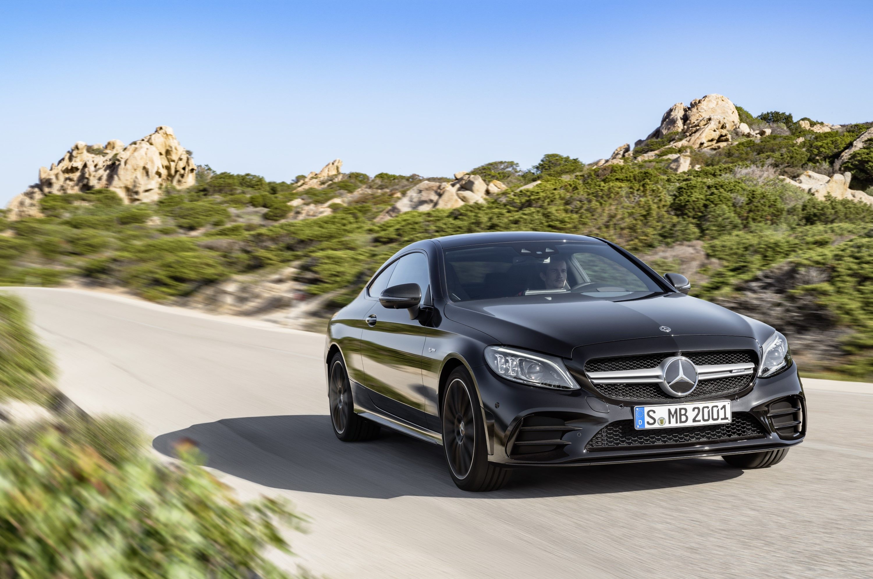 2019 Mercedes Benz C Class Coupe And Cab Unveiled With Images