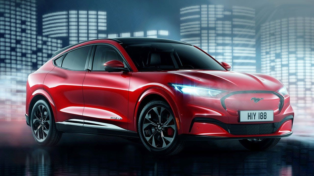 FIRST LOOK Ford Mustang MachE Electric SUV Top Gear