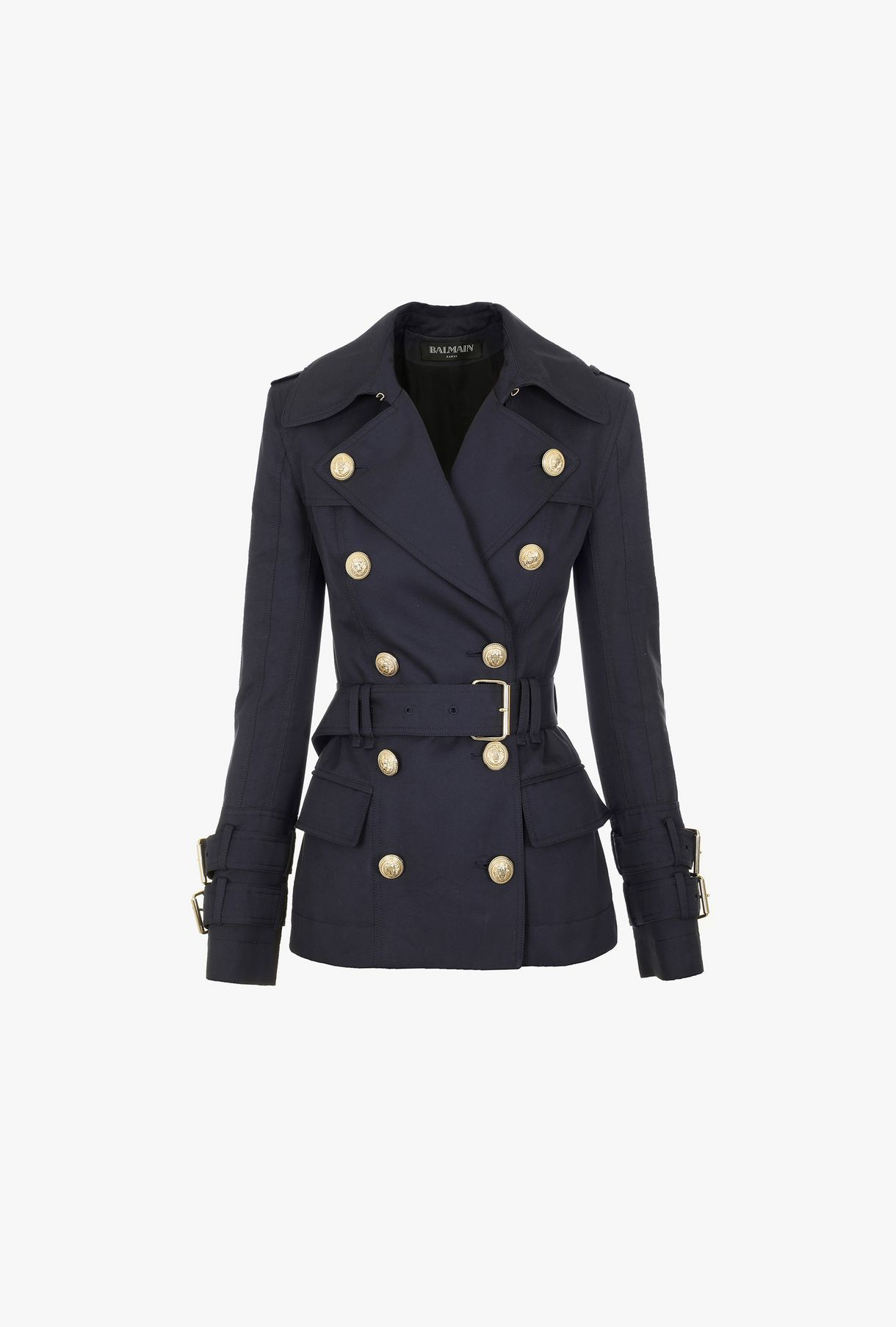 Looks - How to short wear sleeve trench coat video