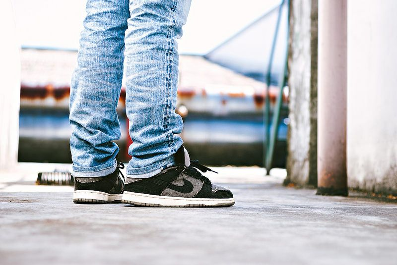 "Nike Dunk Low SB x Medicom ""Denimcom"""