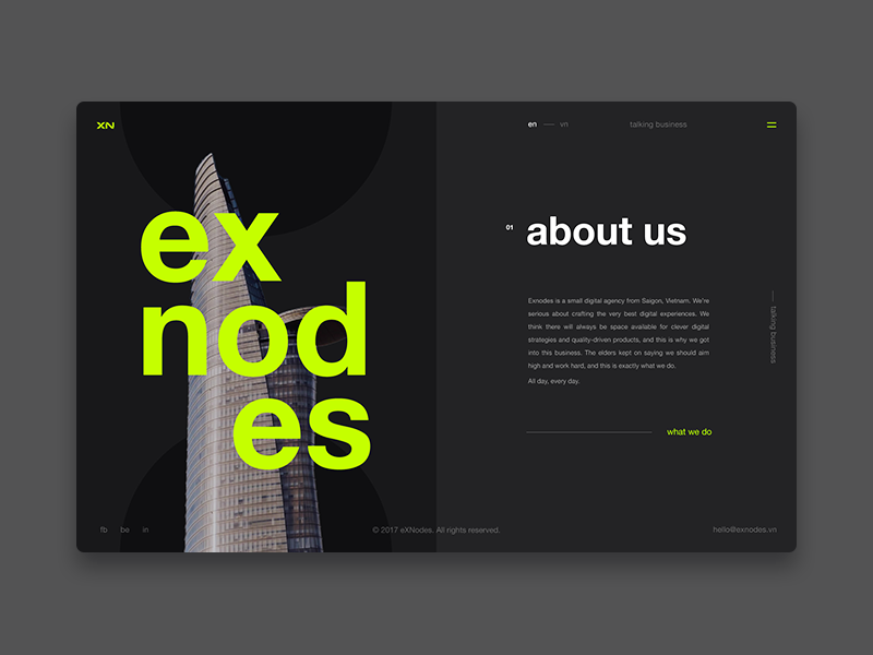 Exnodes Digital Agency About Us Page Digital Agencies About Us Page About Us Page Design