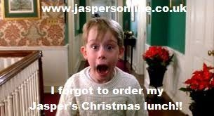 Don't forget to order your Jasper's Christmas lunch!   www.jaspersonline.co.uk