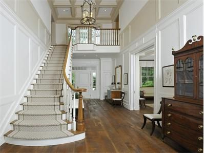 staircase - Photo of Country Elegance Off Round Hill Road