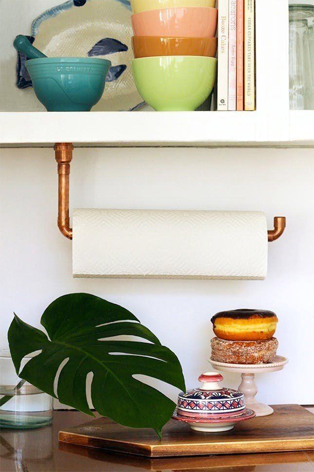 16 Ways To Work Around Little To No Counter Space In Your Kitchen U2013 Brit +