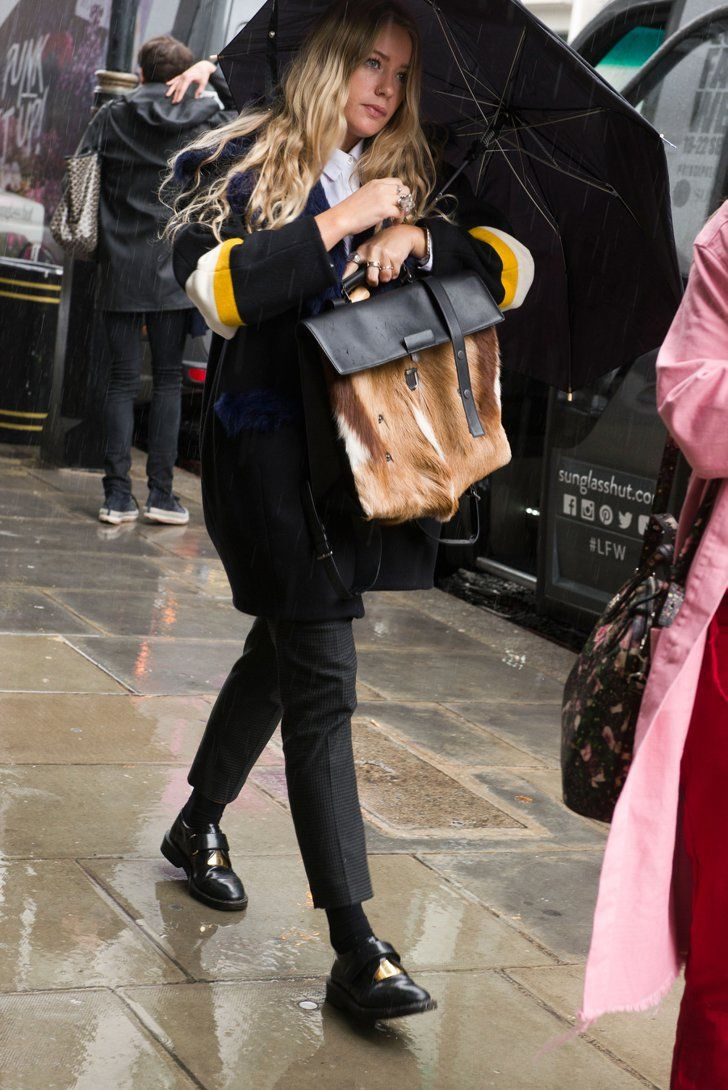 Pin for Later: All the Best Street Style From Milan Fashion Week London Fashion Week, Day 5 Tona Stell.