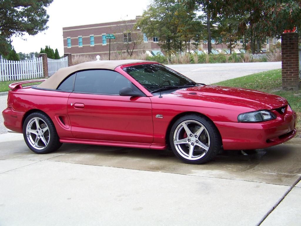 All Types 1995 mustang convertible : R Tutor uploaded this image to '1995 GT Convertible'. See the ...