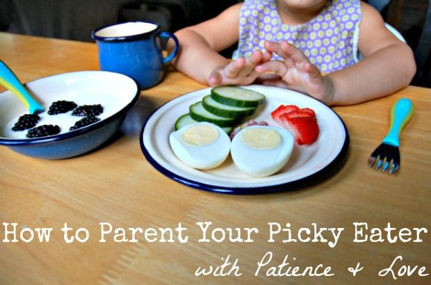 Some guidance from an expert on feeding (and a mom) on patiently parenting a picky eater.