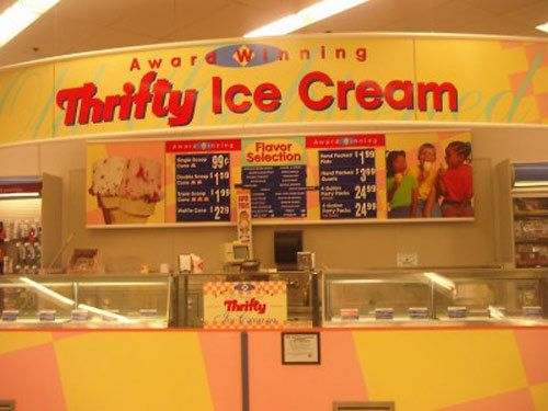 Ah! Nifty Thrifty Ice Cream Cones