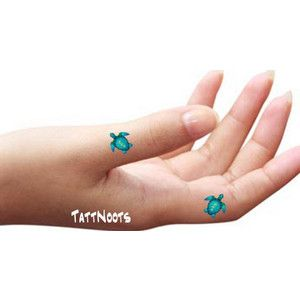 5c5531bba4770 sea turtle finger tattoo - Google Search | Turtles | Finger tattoos ...