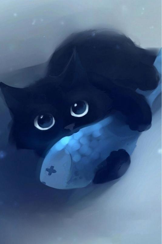 Pensem Muito Nisso Mas So De Madrugada Cute Cats Black