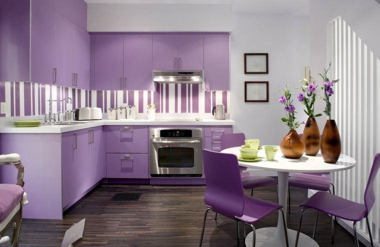Kitchen Ideas Purple couleur cuisine : la clé de l'association harmonieuse | purple