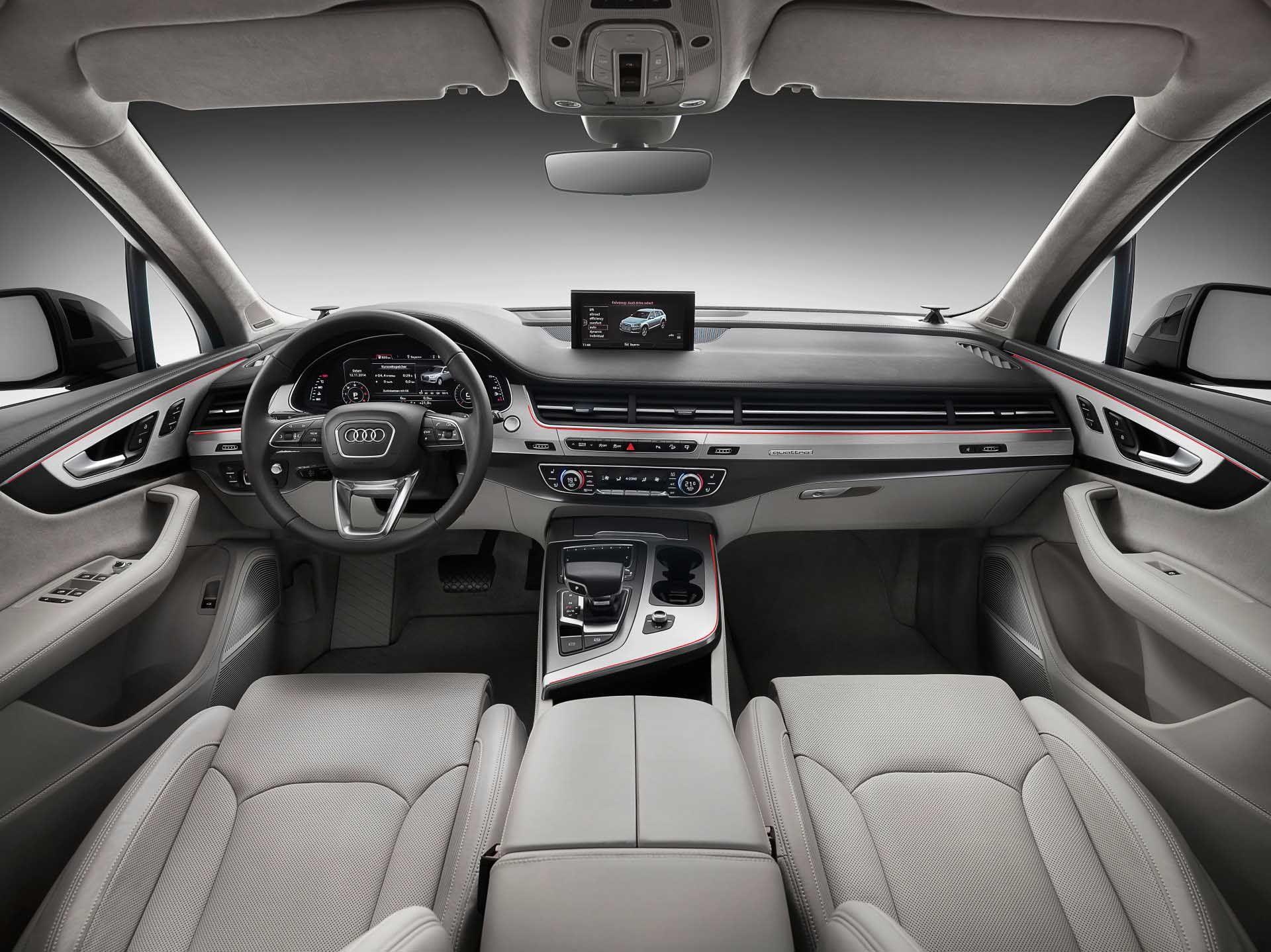 10 Impressive Audi Q7 Interior Audi