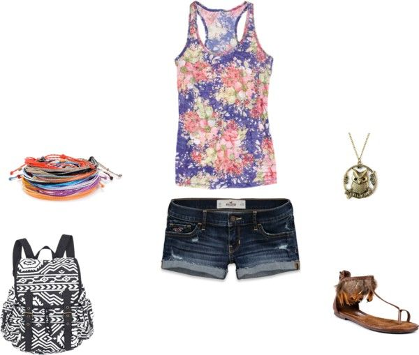 """""""Summer time"""" by emili-shallow on Polyvore"""