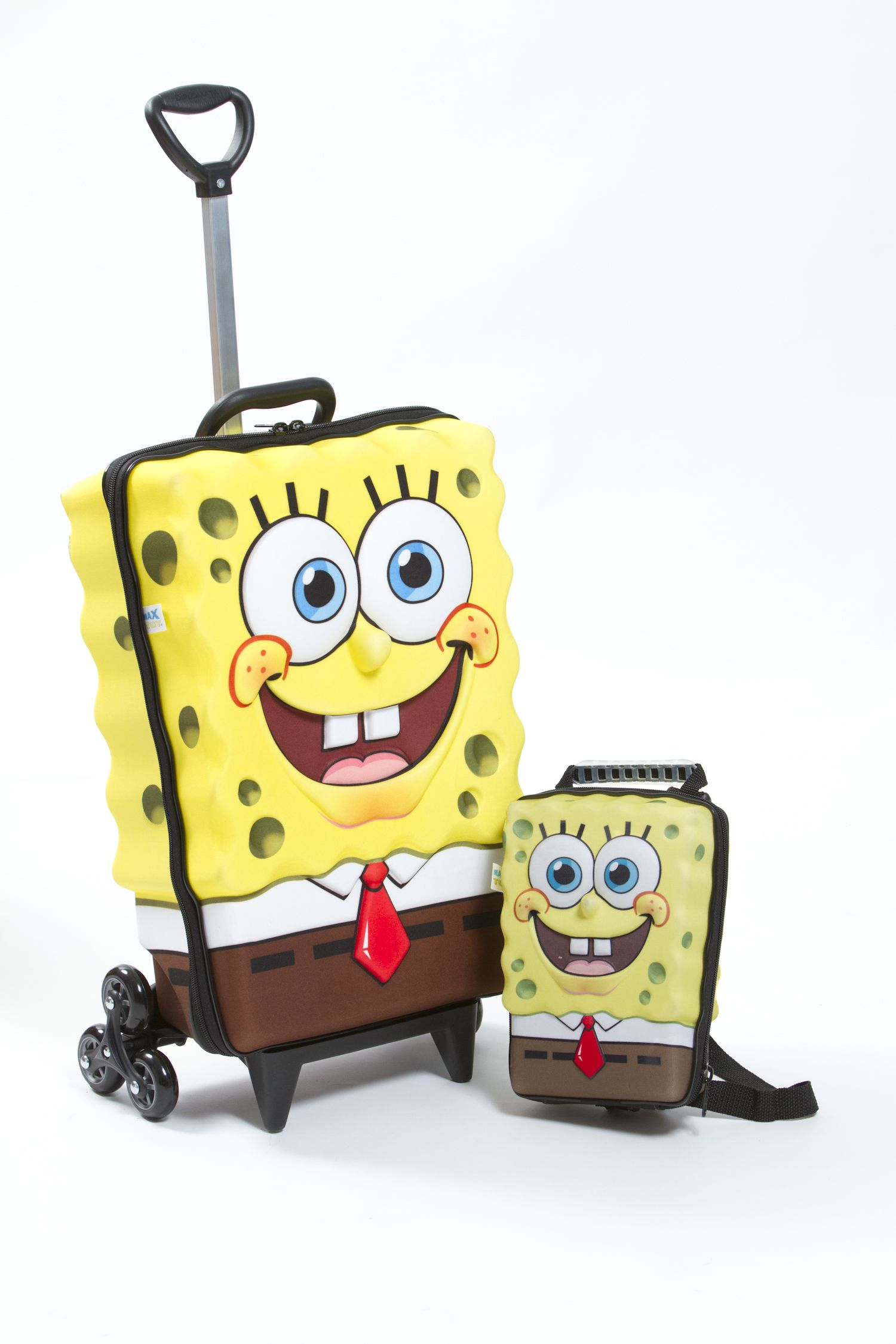 SpongeBob Rolling Backpack and Matching Lunch Box | Nickelodeon