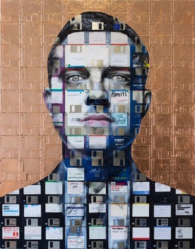 Nick Gentry - portraits on obsolete technology