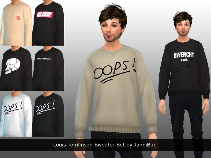 A Set Of Ten Recolored Sweaters Jumpers For Men Inspired