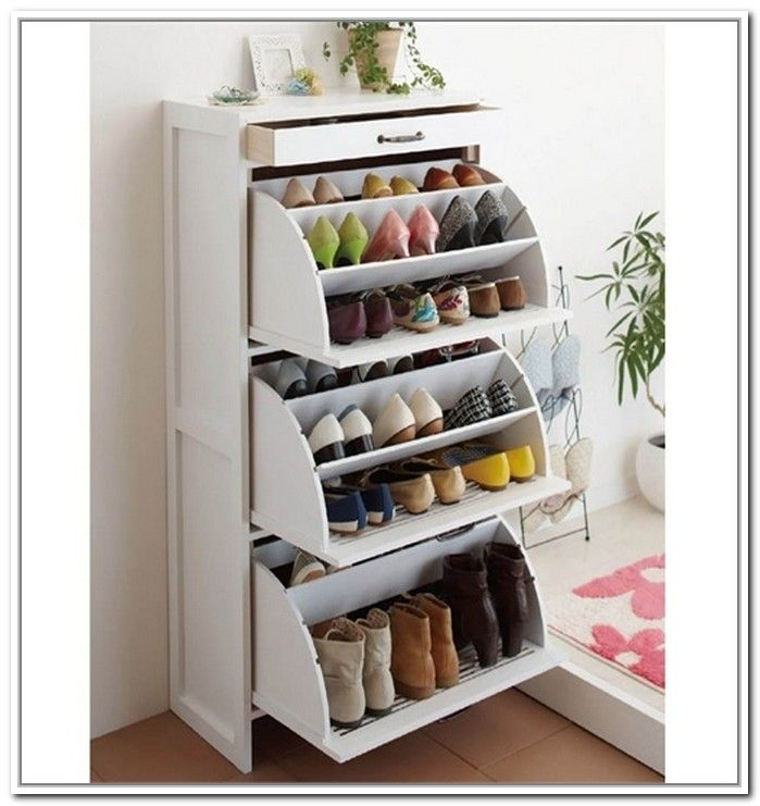 Shoe Racks And Organizers Glamorous Shoes  Organized And Save Space  Pinterest  Storage Ideas 2018
