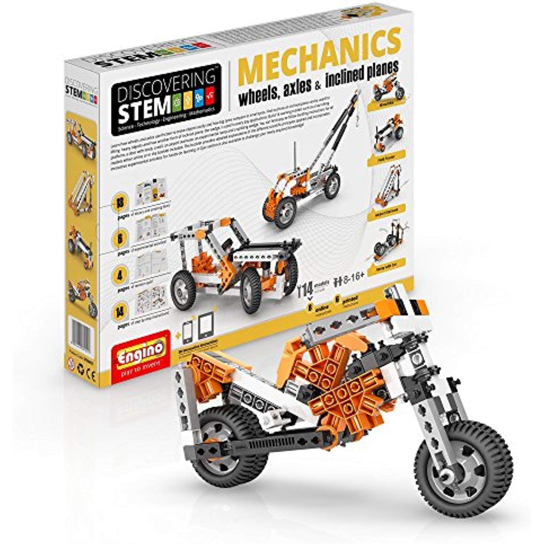 Engino Discovering Stem Mechanics Wheels Axles And