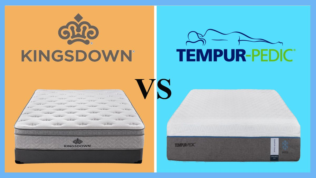 Kingsdown Vs Tempurpedic Tempurpedic Memory Foam Mattress Foam Mattress