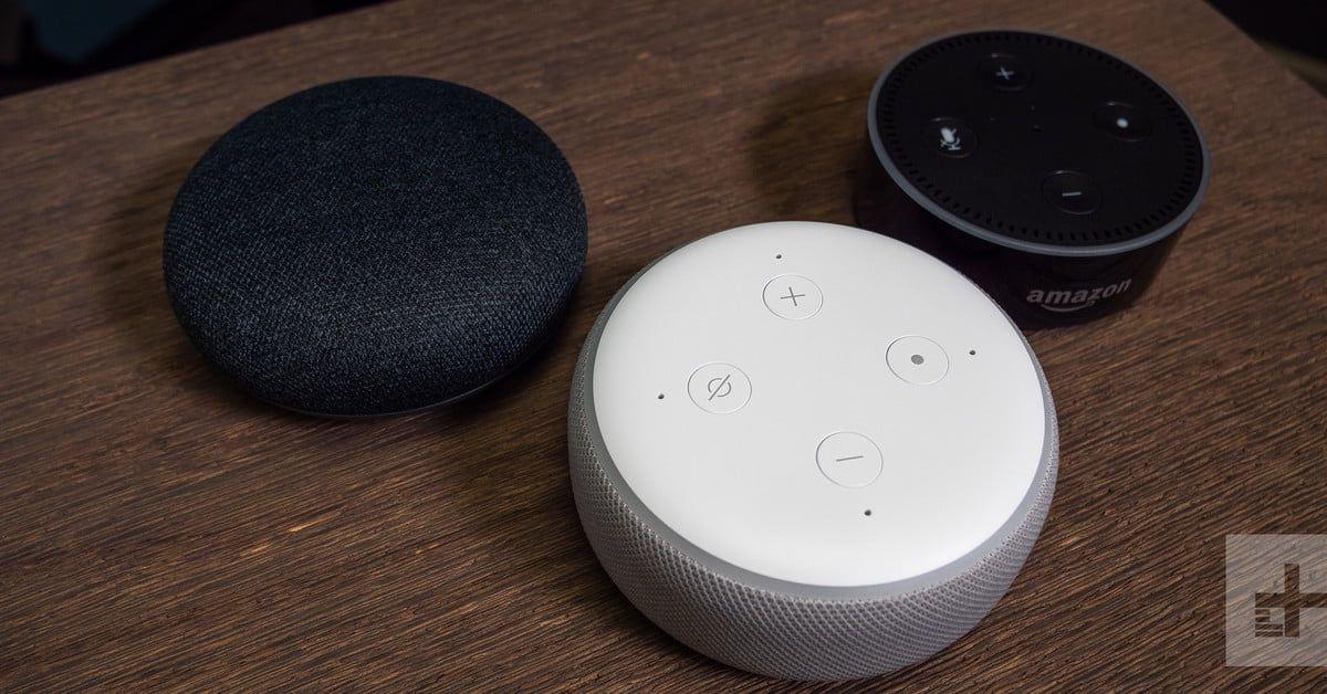 Which Smart Speaker Should Run Your Home Google Home Mini Echo Dot Amazon Echo