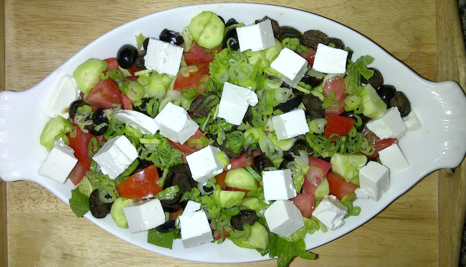 البيت السعيد طريقة عمل سلطة الجبنة القريش Salad Food Cooking