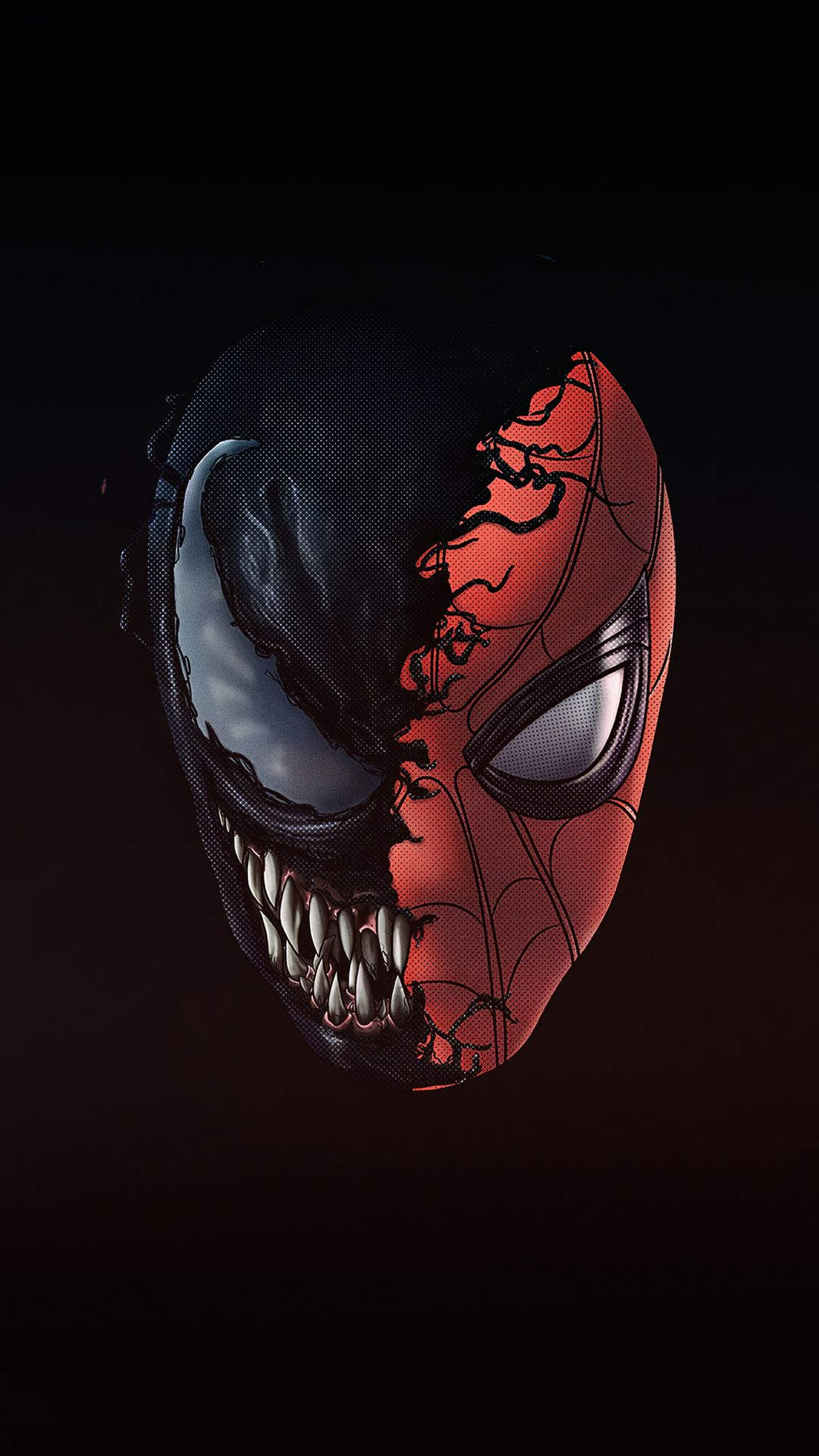 Spiderman x venom Mobile Wallpaper in 2020 Iphone wallpaper
