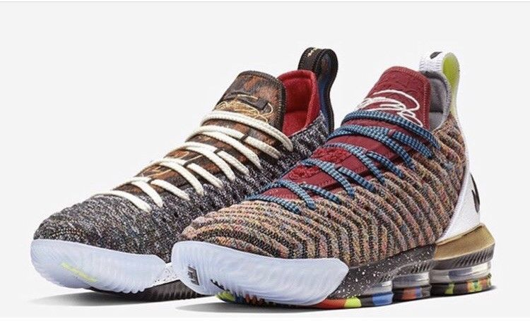 Nike Lebron 16 1-5 What The Limited