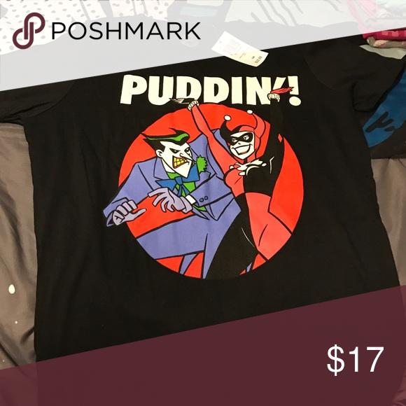 Joker And Harley Quinn Shirt S Hot Topic Tops