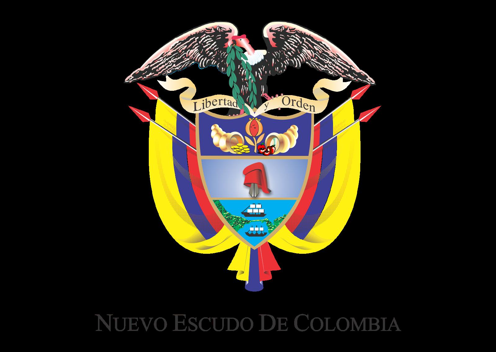 Nuevo Escudo de Colombia Logo Vector Escudo, Vector