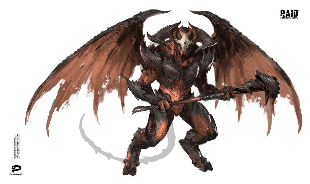 Artstation Raid Shadow Legends Plarium Ukraine Shadow Monster Raid Shadow Legends Creature Concept