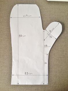 PASSO À PASSO COMO FAZER UMA LUVA TÉRMICA MATERIAIS NECESSÁRIOS  Tecidos  estampados e para forro  Manta acrílica grossa  . 2b8806c0773af
