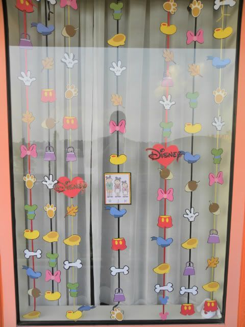 Resort Window Decorating Ideas *Cute Way To Decorate Your Room. When You  Look At The Window You Are At Your Room. Also Helps To Let Kids Know When  They ...
